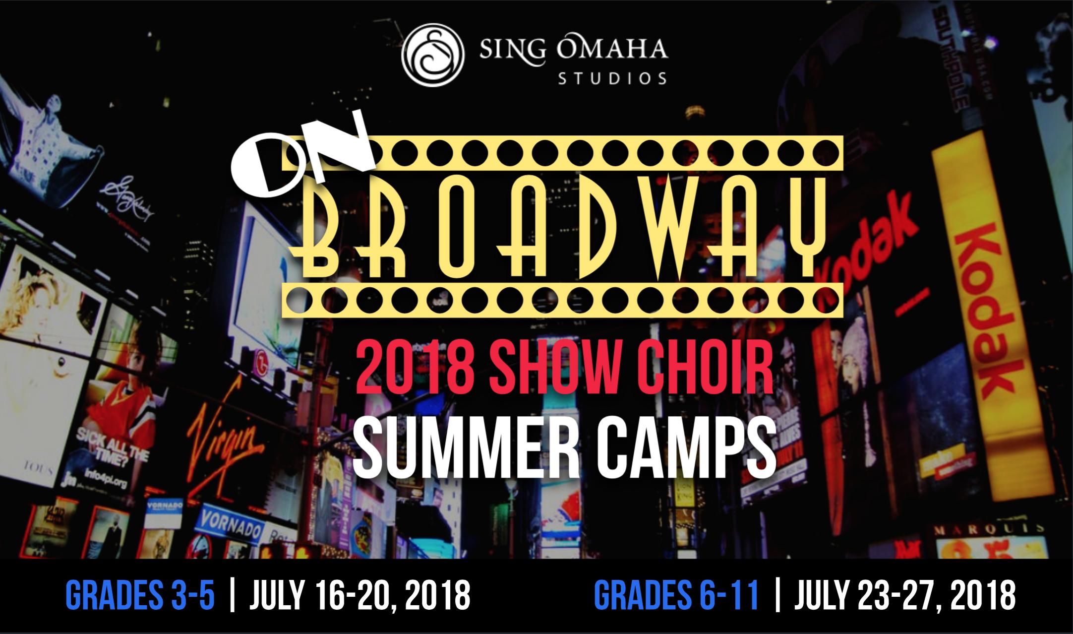 Broadway Show Choir Camp